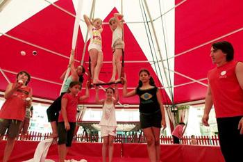 Cirque, Art du Spectacle : Multi-activités Tir à l'arc